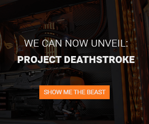 Deathstroke – an ASUS ROG build