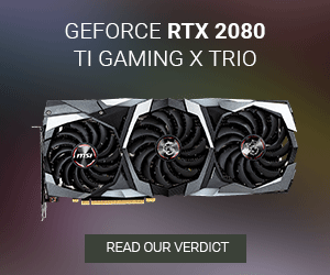 Geforce RTX 2080 TI Gaming x TRIO