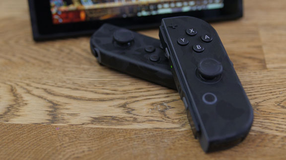 Casemodding your Nintendo Switch with dbrand Black Camo skin
