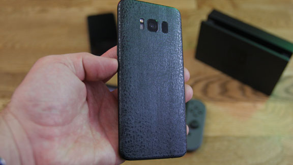 dbrand Black Dragon skin for Samsyng Galaxy 8 smartphone