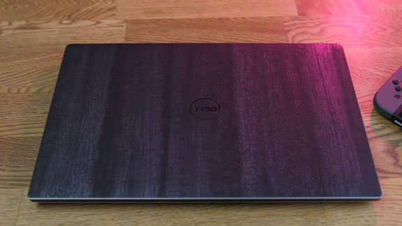 Dell XPS laptop skin, Black Dragon by dbrand