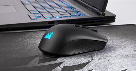 Corsair introduce Harpoon RGB Wireless lag-free wireless gaming mouse, along with Ironclaw RGB, and M65 Elite.