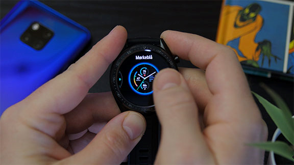 Huawei Watch GT Dark Blue dial theme