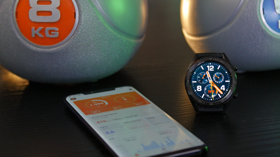 Huawei Watch GT Fitness Uhr Praxistest