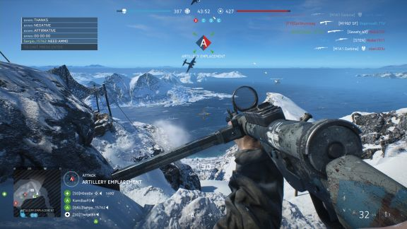 Battlefield V Fjell 652, arctic alpine combat in Norwegian mountains