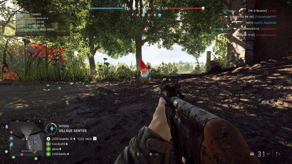 Battlefield V garden gnome Easter Egg