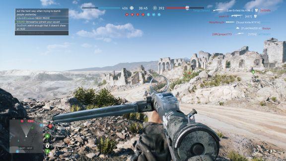 Battlefield V Hamada desert combat