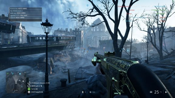 Battlefield V urban combat in Rotterdam Devastation