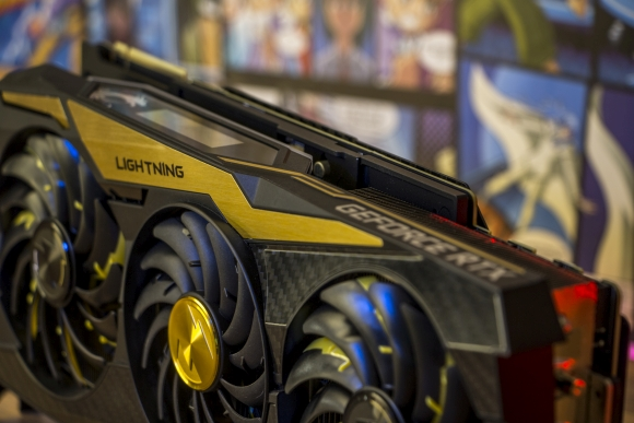 MSI GeForce Ti Lightning Grafikkarte