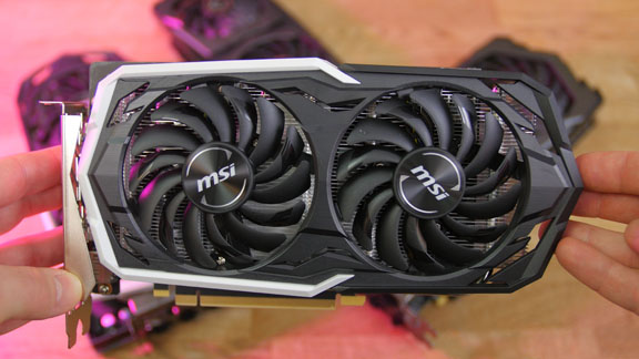 MSI Geforce GTX 1660 Ti Grafikkarte