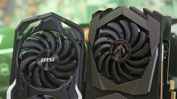 MSI Geforce GTX 1660 ti Gaming X vs. 1660 Ti Armor OC Garfikkarte