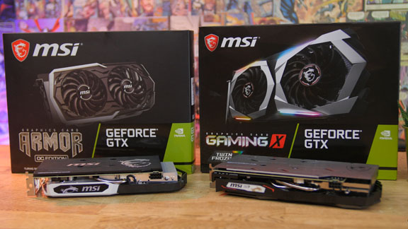 msi Grafikkarten Test MSI GeForce GTX 1660 Ti Gaming X vs. Armor OC