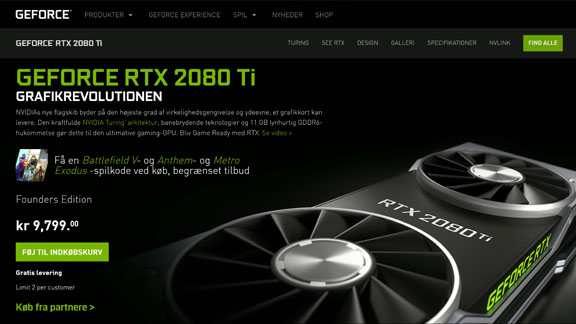 rtx 2080 ti guide 2019 graphics card nvidia