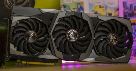 Test: MSI GeForce RTX 2080 Ti Gaming X Trio