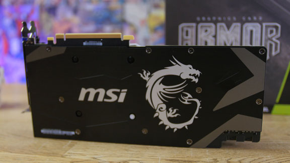 MSI RTX 2070 armor backplate