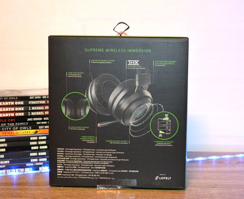 Razer Nari Ultimate in-the-box