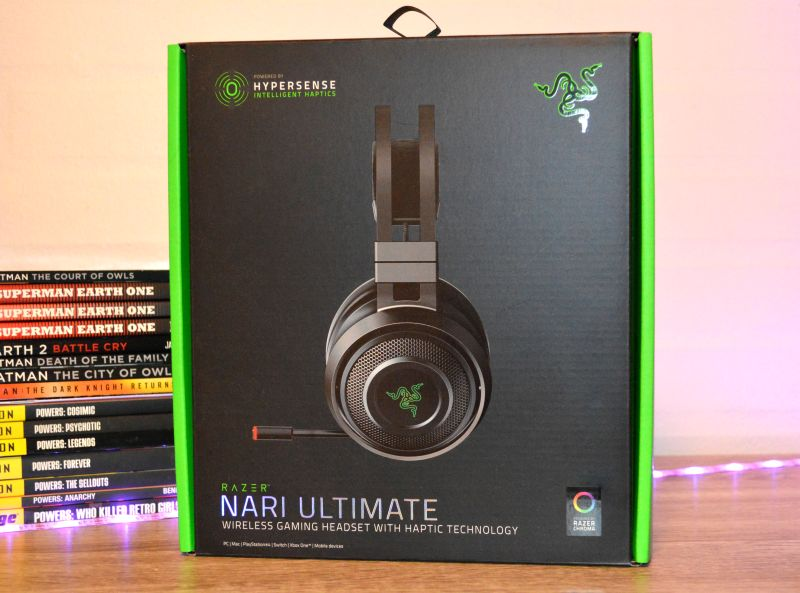 Razer Nari Ultimate unpacking