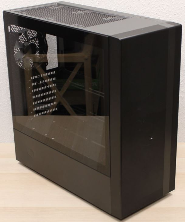 NR600 left front view cooler master midi case