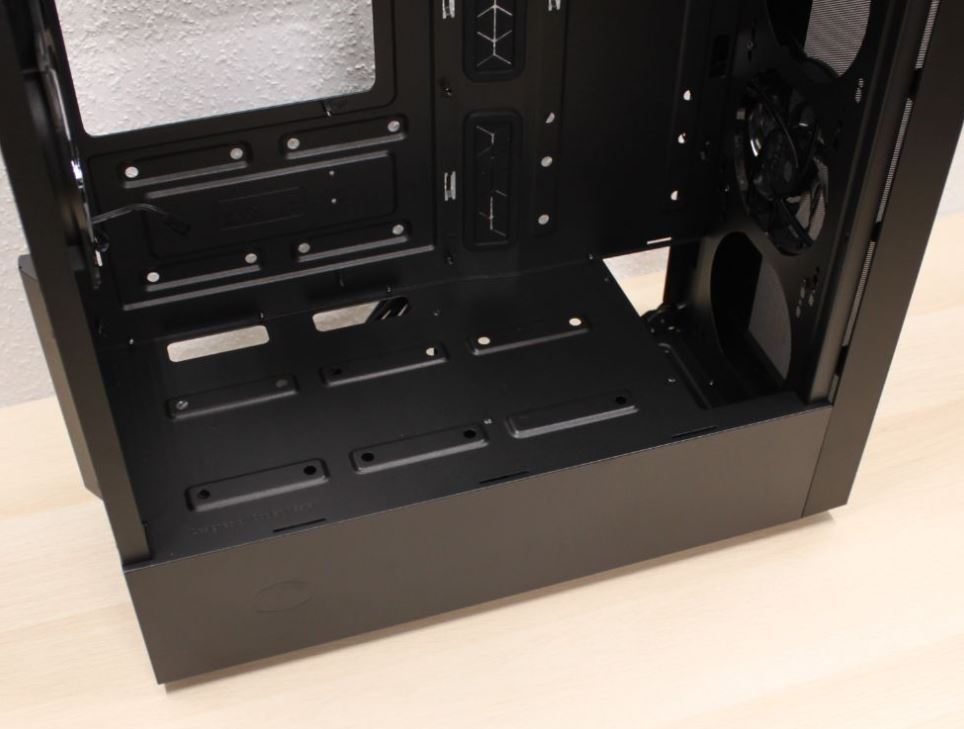 cooler master open case view NR600