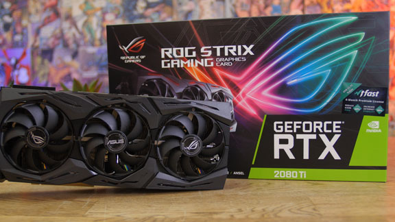 ASUS Deathstroke Build GeForce RTX 2080 Ti Grafikkarte