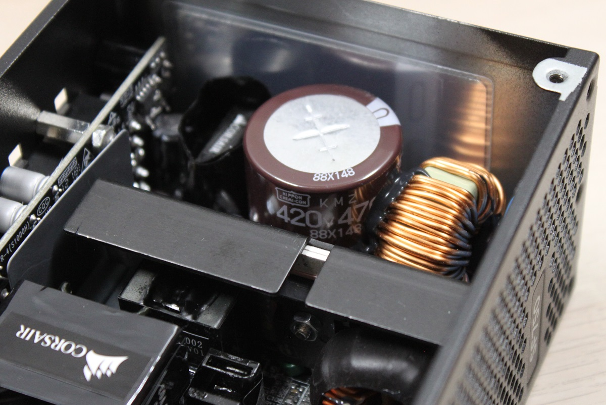 Corsair SF750 capacitor