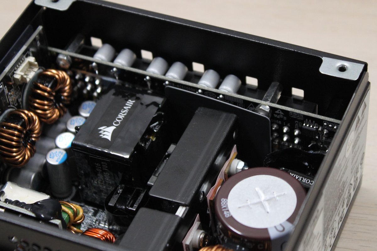 Corsair SF750 cooling and modular interface