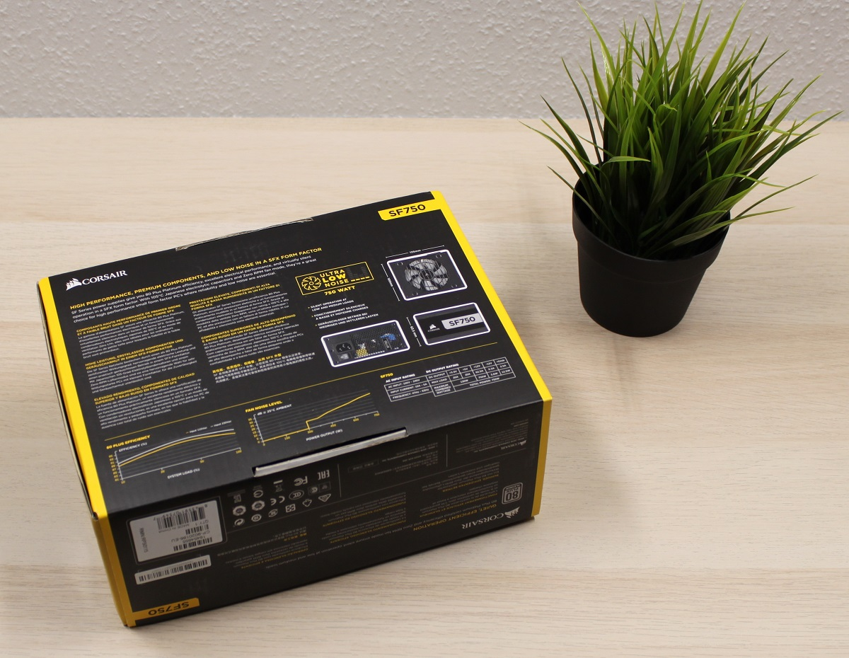 Corsair SF750 unboxing