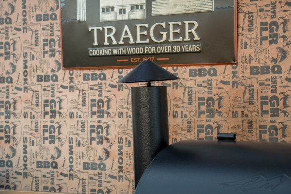 traeger 575 pro chimney top