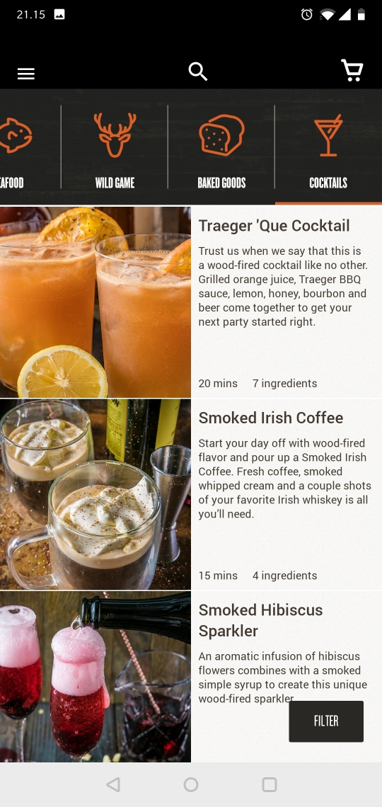 traeger pro 575 grill cocktails
