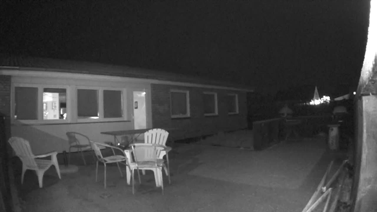 Arlo Pro camera night vision image