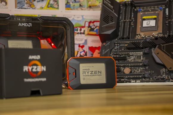 AMD Ryzen Threadripper 2920X and 2950X